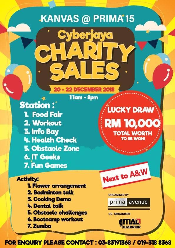 Prima Avenue's Cyberjaya Charity Sales